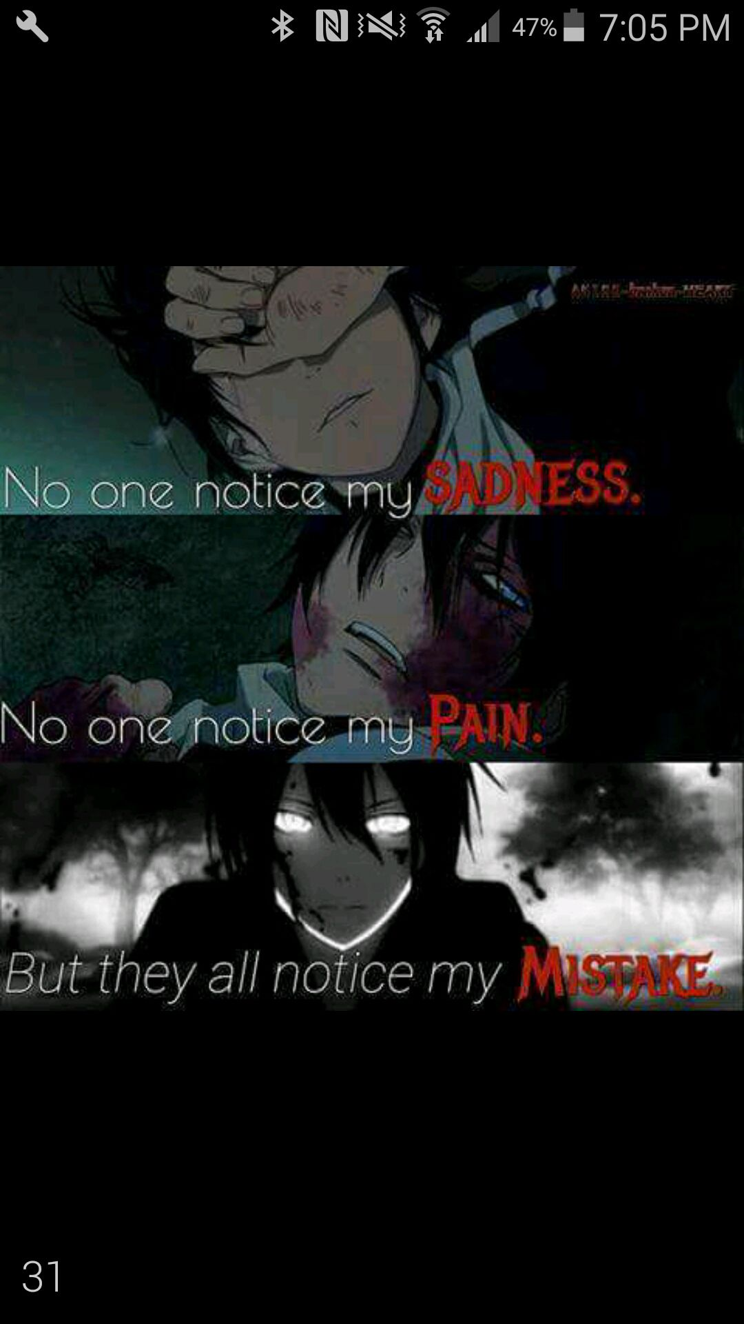 Sad Anime Quotes - Noragami - Wattpad