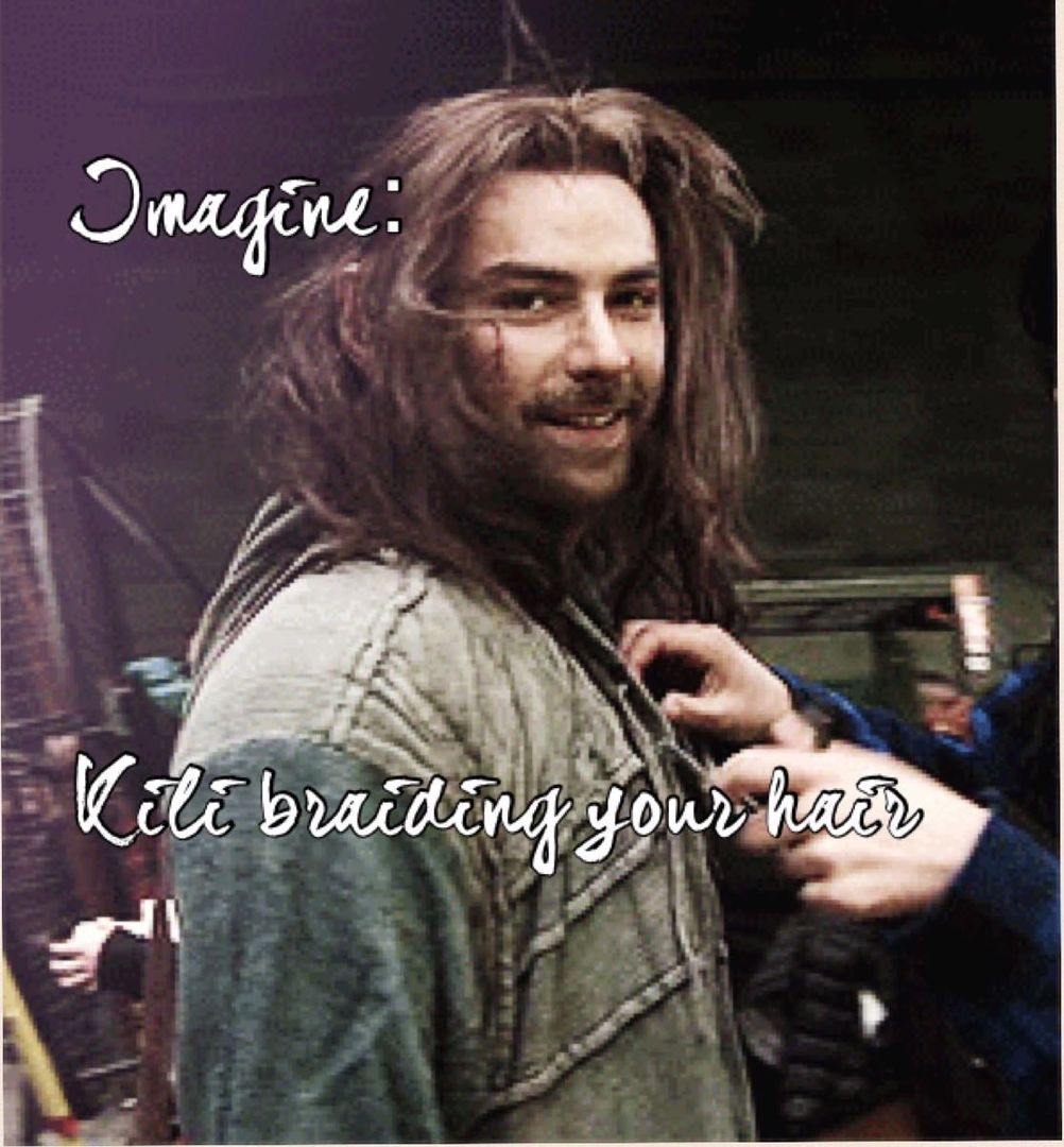 Aidan Turner Imagines - Imagine: Kili braiding your hair - Wattpad