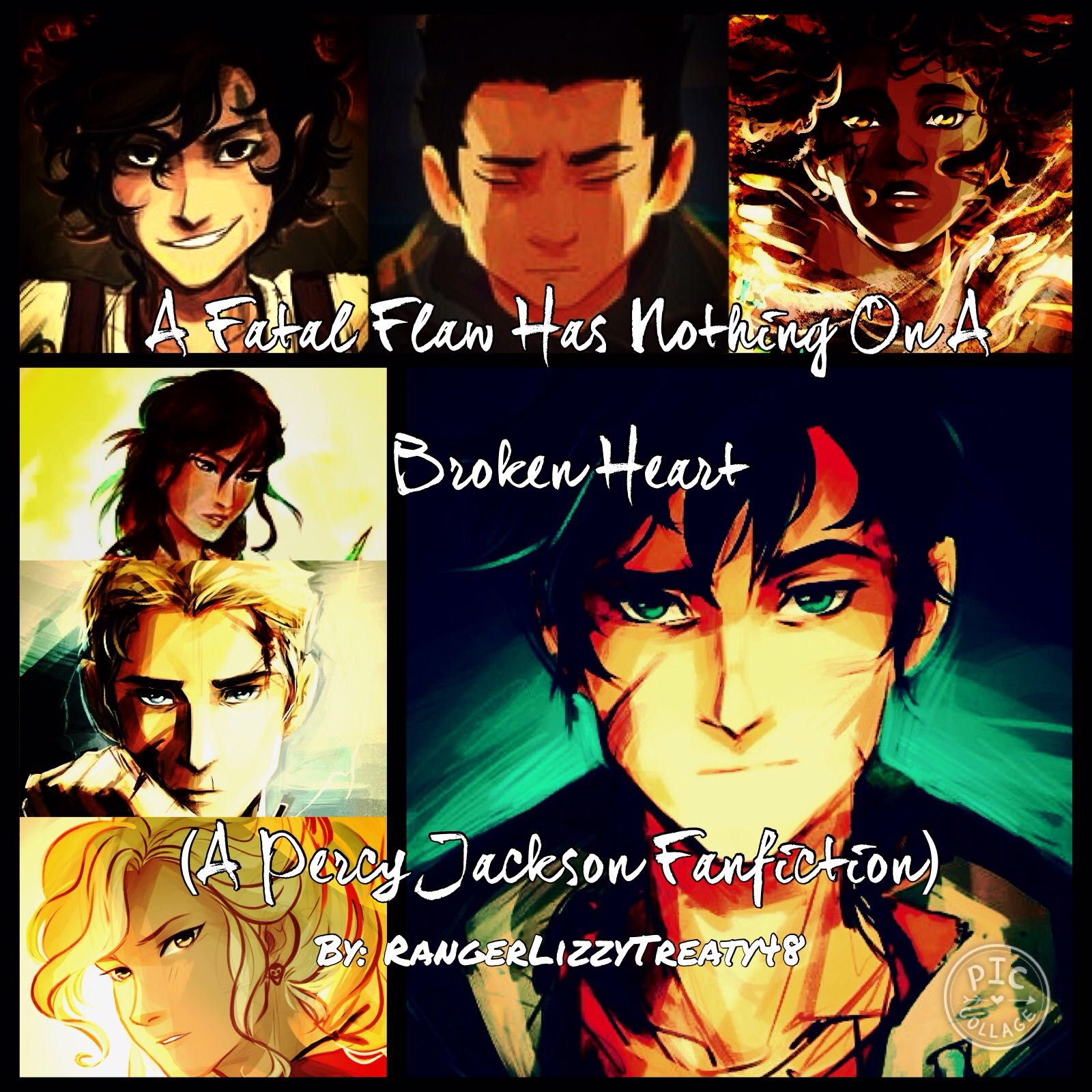 A Fatal Flaw Has Nothing On A Broken Heart (Percy Jackson