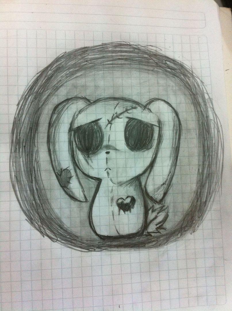 Mis Dibujos 2 Conejito Emo Wattpad