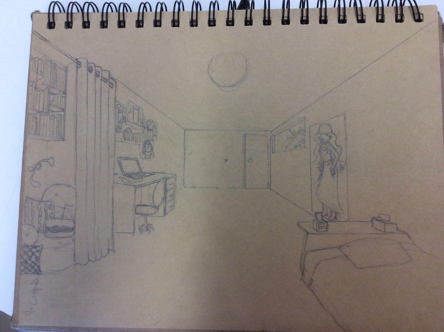 Mes dessins (non j\'ai rien trouvé de mieux --\') - (Croquis) Ma ...