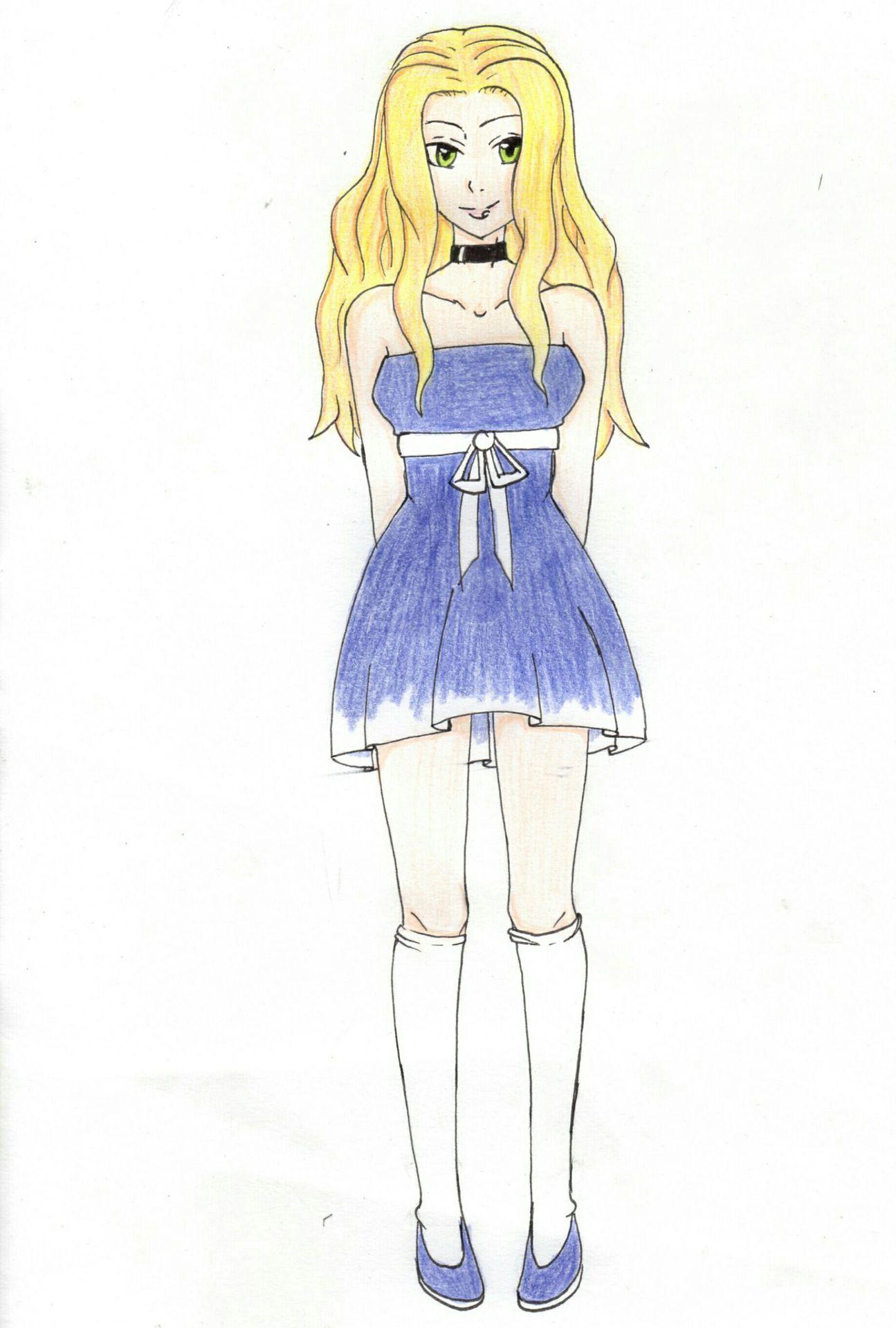 Mes dessin manga et autre fille blonde wattpad - Dessin de fille belle ...