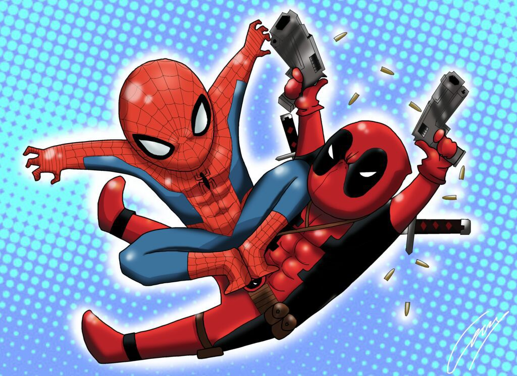 Spiderman X Deadpool Bxb Chapter 1 Wattpad