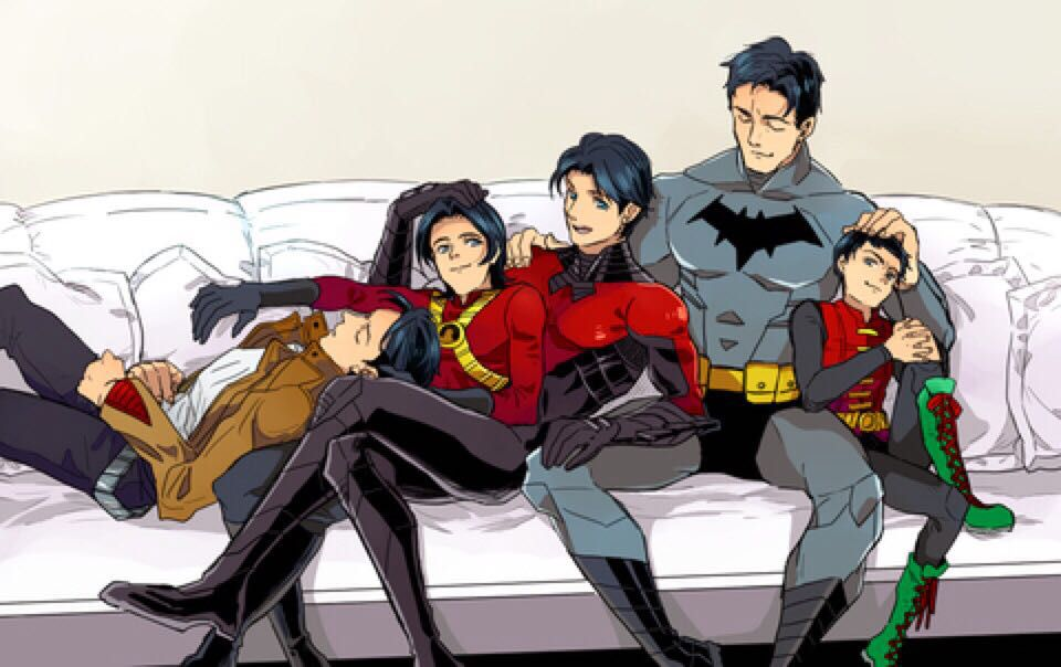 Bat-Family headcanons/imagines/preferences - Nicknames >Headcanon