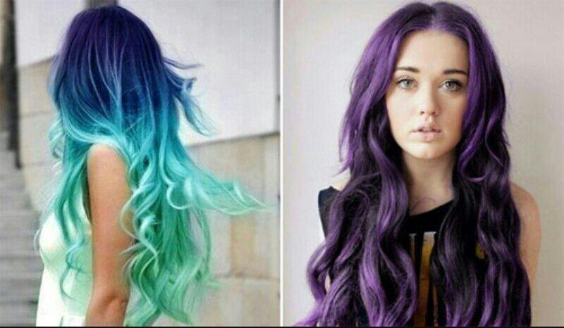 Renkli Saçlar Mavi Saçlar Wattpad
