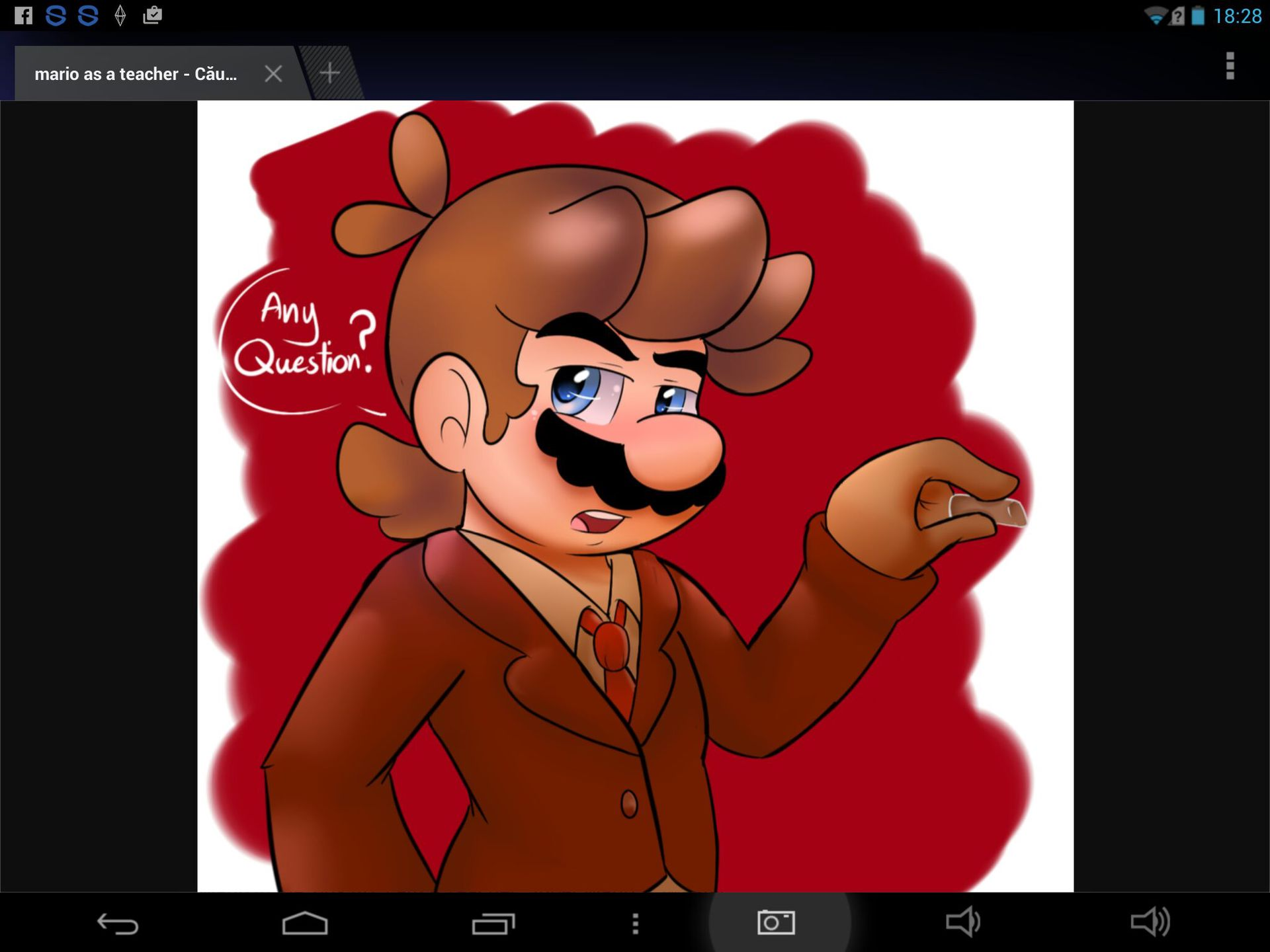 Mario(teacher) X Chica(you) A love like this is hard to find - the