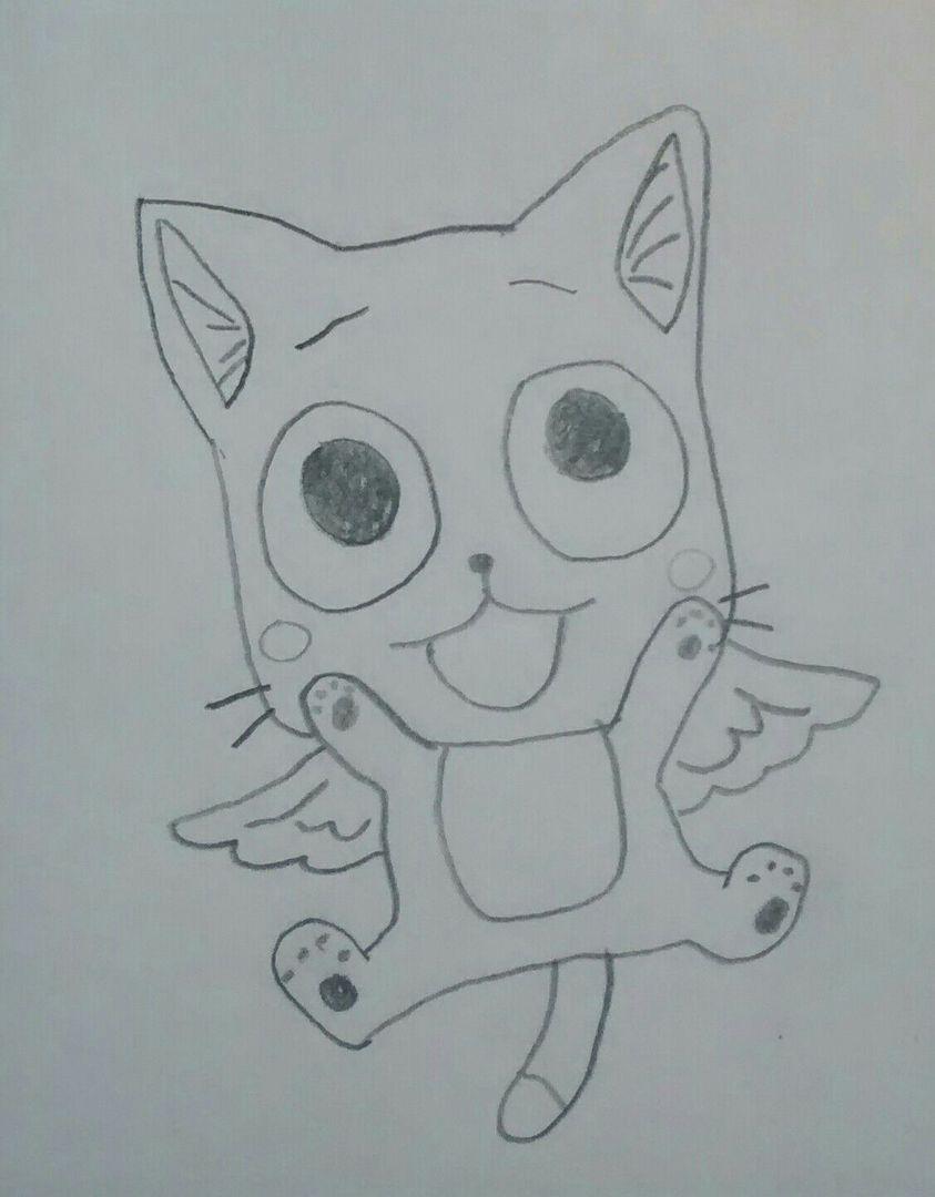 Mes dessins fairy tail happy b b wattpad - Dessiner fairy tail ...