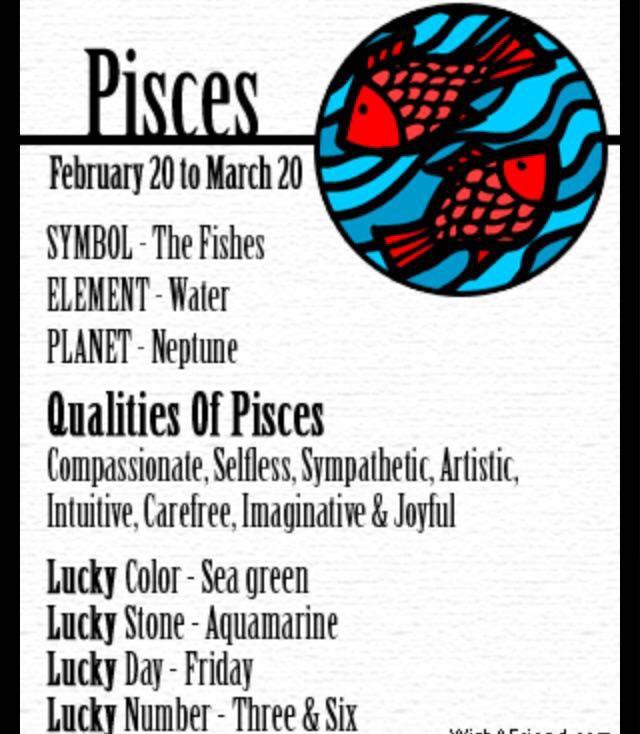 Horoscopes!!!! - PISCES - Wattpad