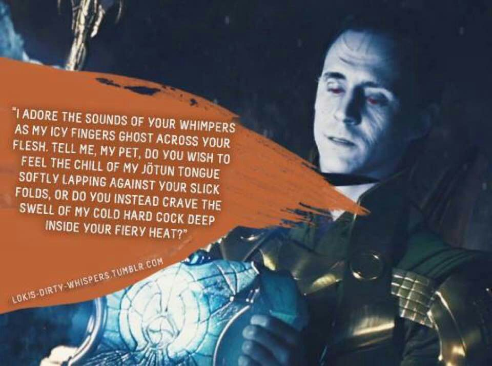 Avengers imagines (characters and actors) - Loki dirty