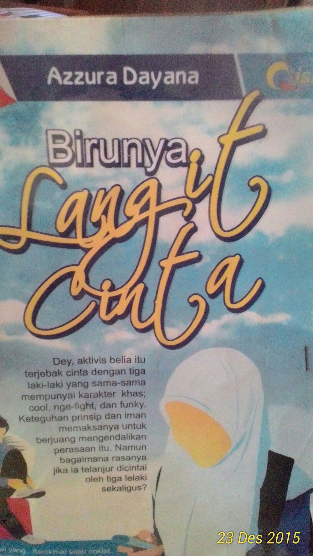 ebook novel birunya langit cinta