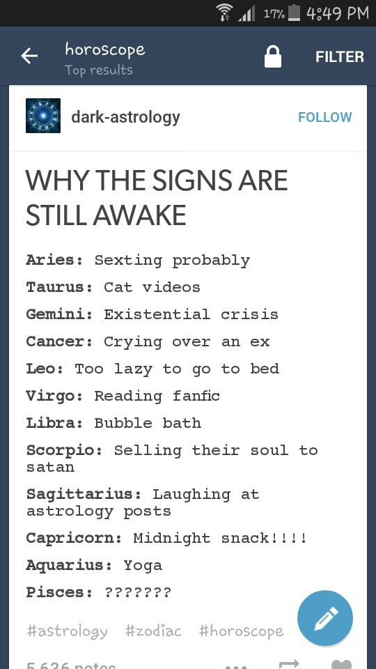 Things That Make Me Laugh - Why the signs are still awake
