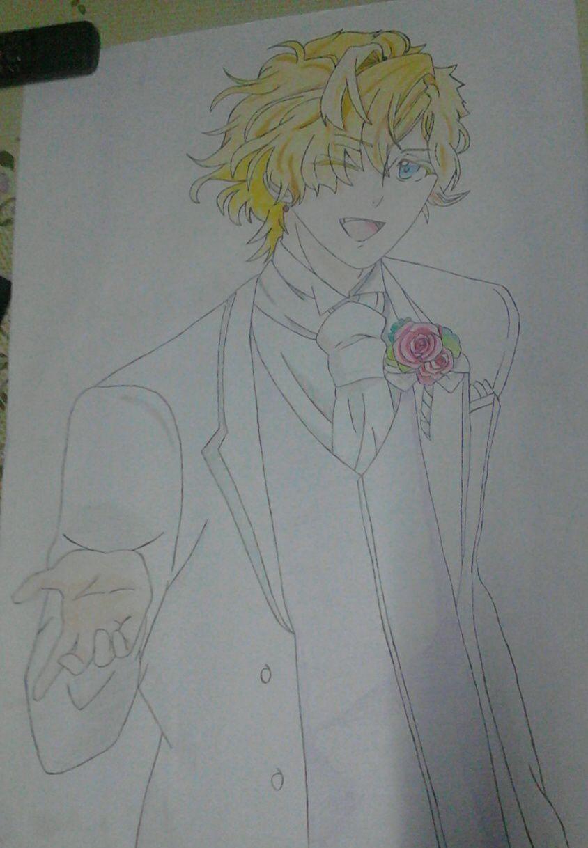 mis dibujos  anime  - kou mukami
