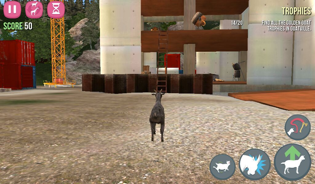 goat simulator cheats!!!!!! - ANTI GRAVITY GOAT!!! - Wattpad