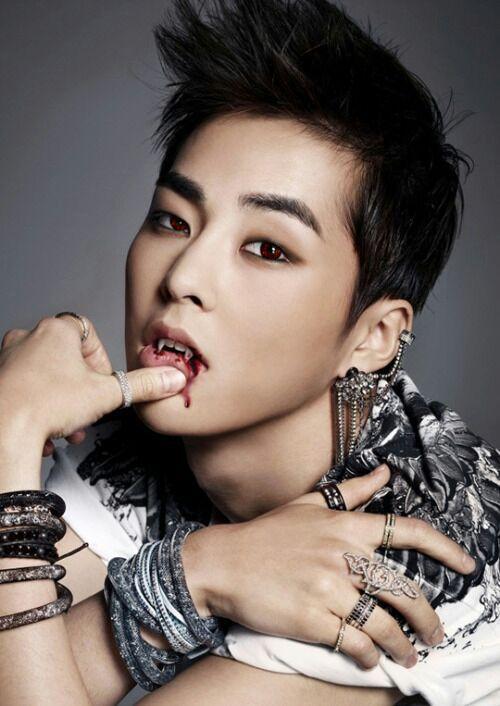 Exo/BTS x Reader [REOPENED] - Vampire!Xiumin x Reader(SMUT
