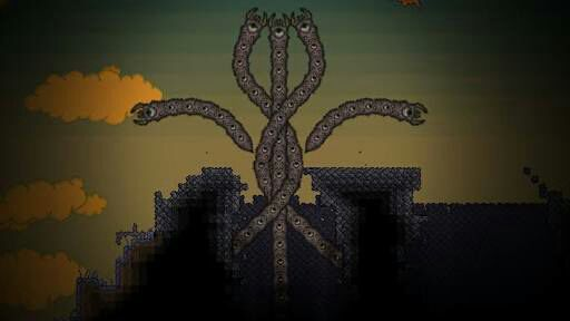 Terraria adventures - The eater of worlds - Wattpad