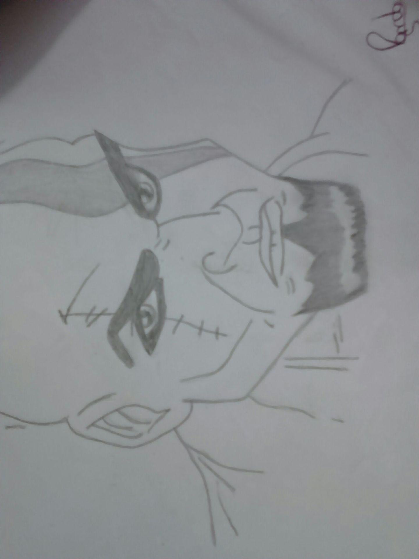Meus Desenhos Kratos Wattpad