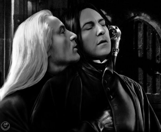 Sevius (Severus Snape/Lucius Malfoy)