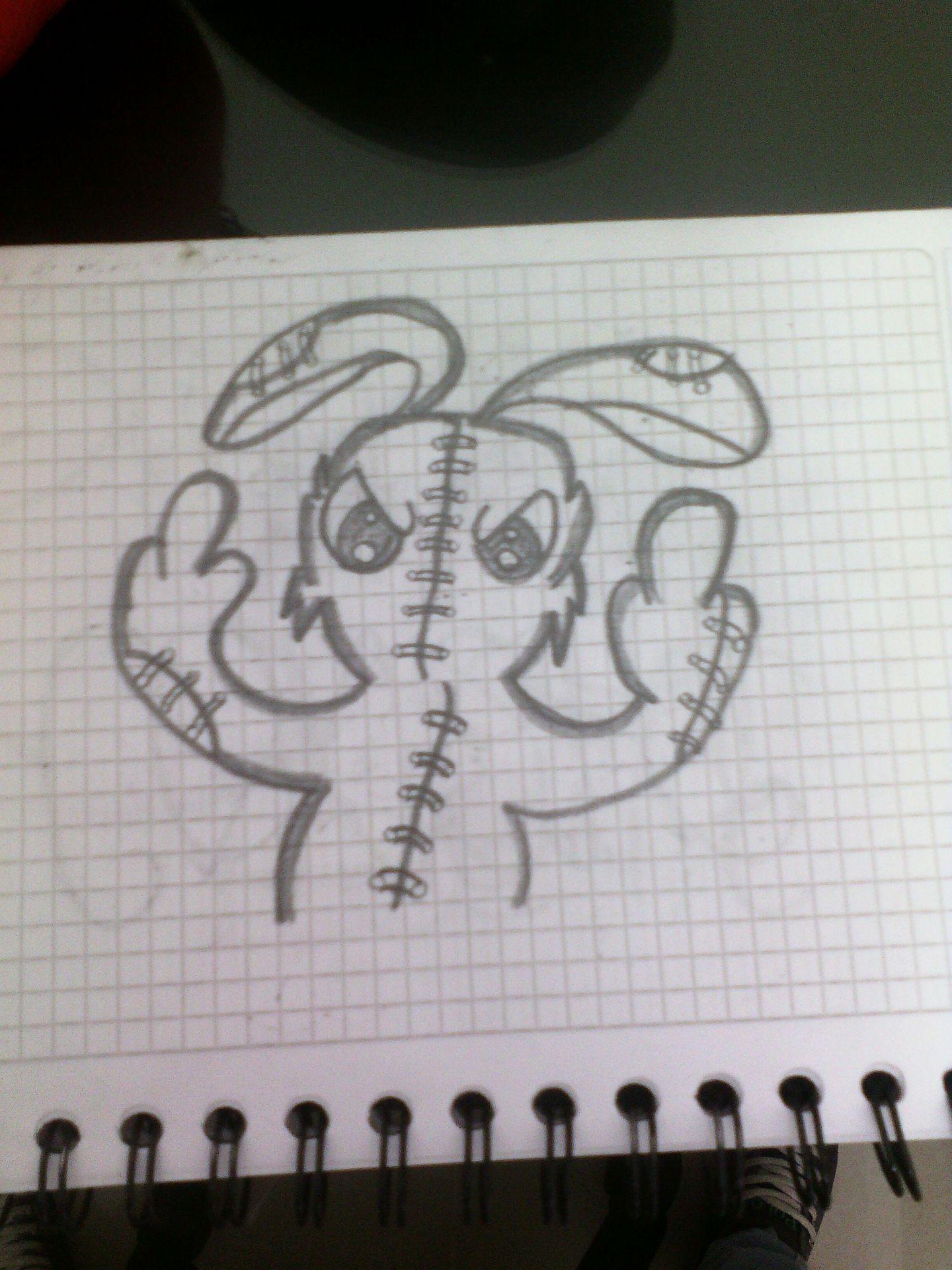 My Drawings Kawaiis Of Creepypastasgraffitis Y Anime Conejito