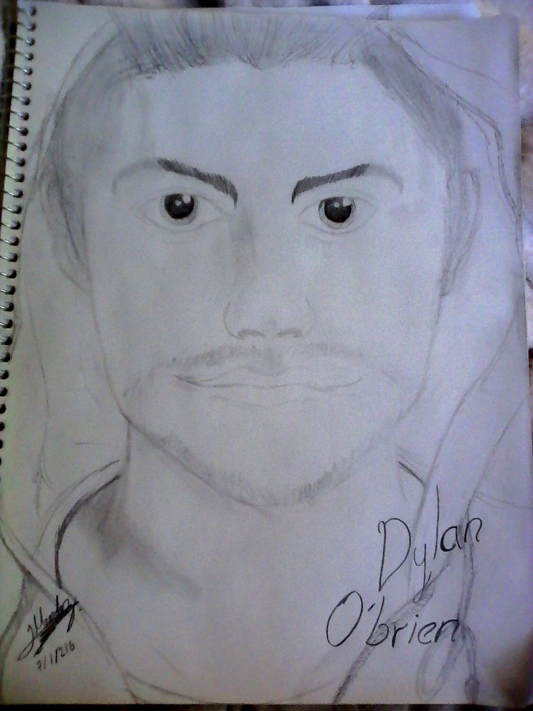 Mis Dibujos Dylan Obrien Wattpad