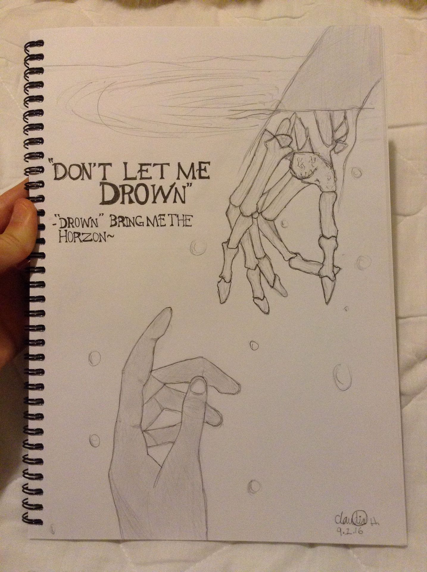 My Drawings Book 2 Don T Let Me Drown Wattpad