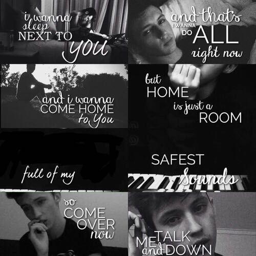 Music and Lyrics - Talk Me Down by Troye Sivan - Wattpad