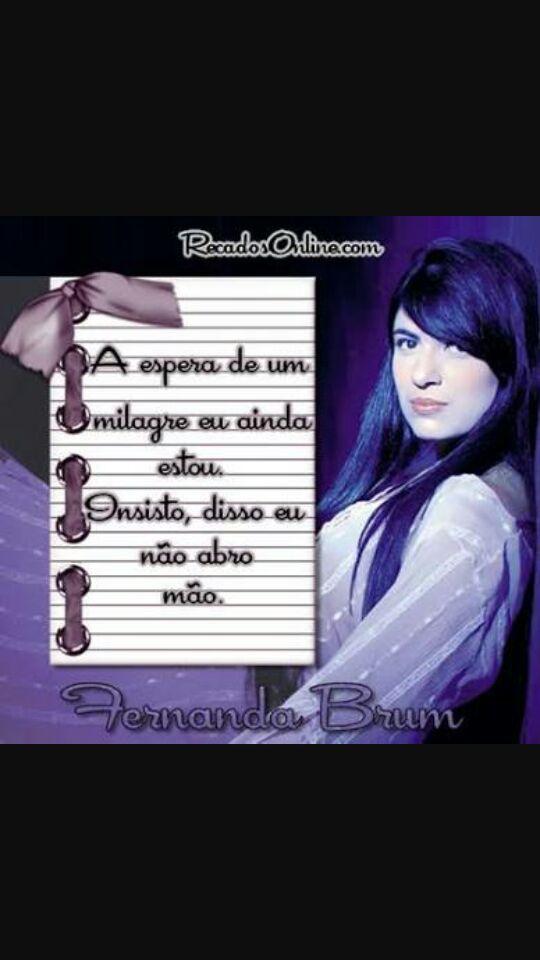 Frases Dos Famosos Frase De Fernanda Brum Wattpad