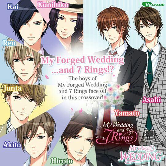 Otome My Wedding and 7 Rings Wattpad