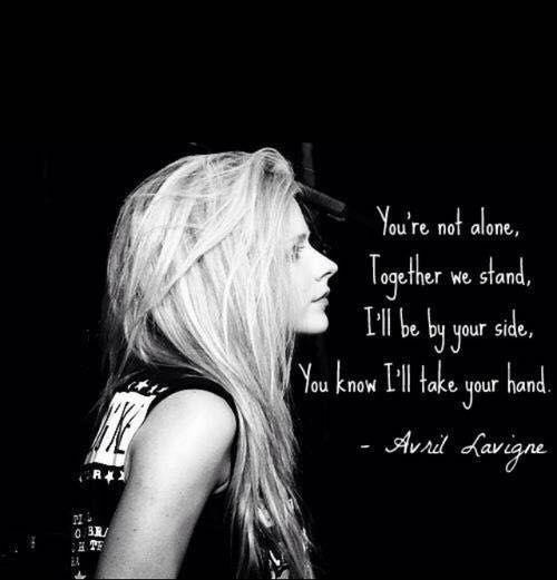 Music and Lyrics - Keep Holding On by Avril Lavigne - Wattpad