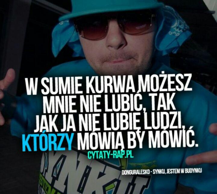 Cytaty Rap Z Piosenek
