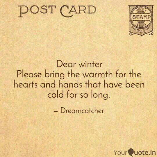 Ruminations Dear Winter Wattpad Dear winter, i hope you like your name i hope they don't make fun of you when you grow up and go to school, okay? ruminations dear winter wattpad