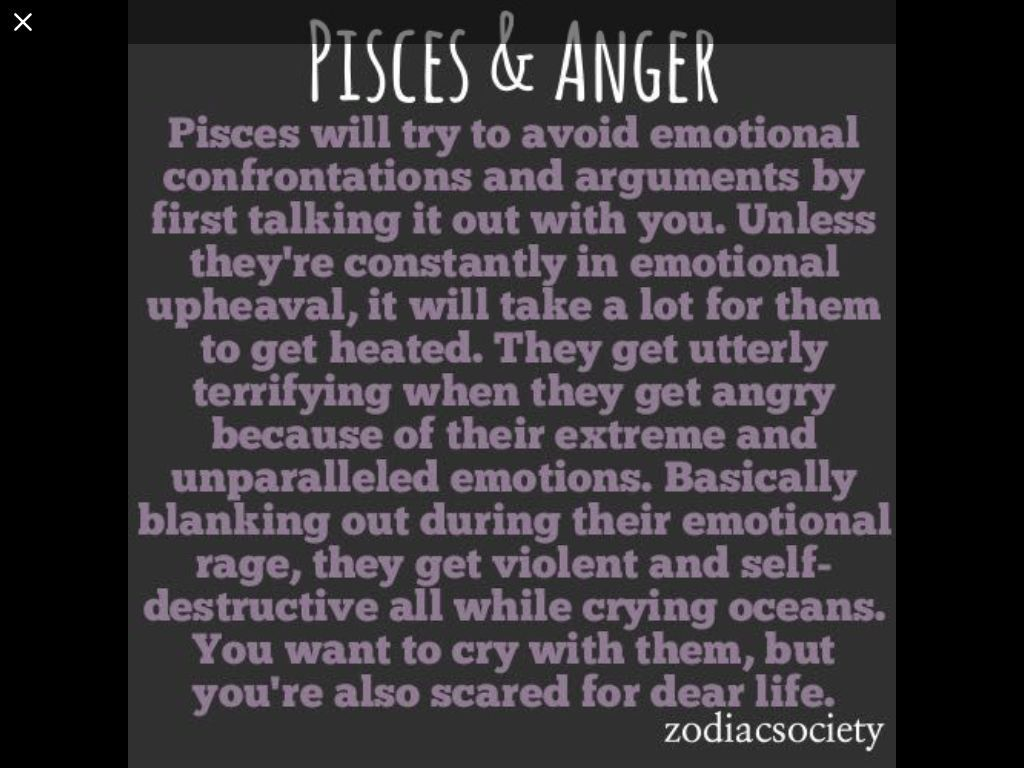 Pisces Quotes Awesome Facts About Pisces  Fact Onefourteen  Pisces And Anger