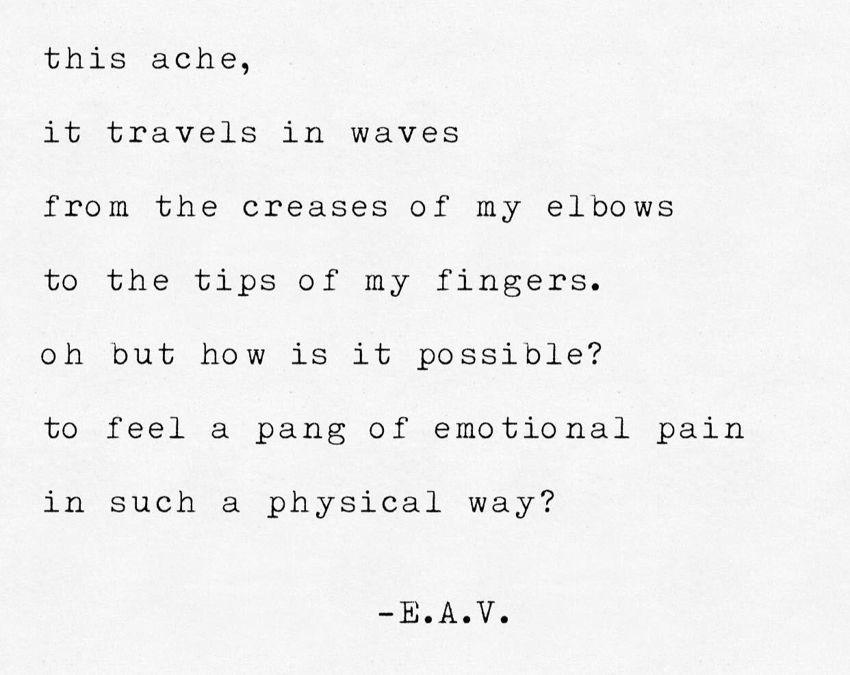 The Affliction Behind My Eyes - A Pang of Emotion - Wattpad