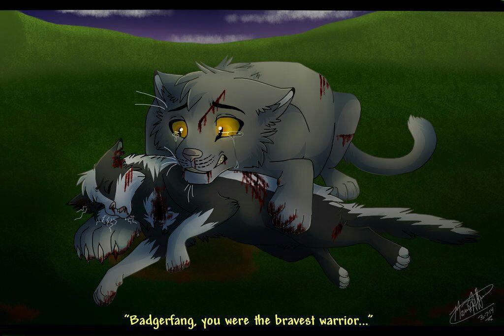 Warrior Cats Badger Battle