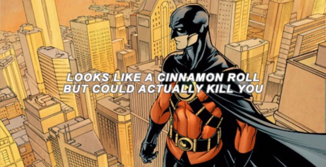 Bat-Family headcanons/imagines/preferences - Celebrations >Red Robin