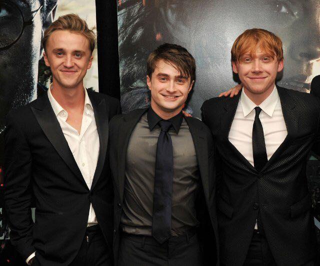 Tom Felton Daniel Radcliffe