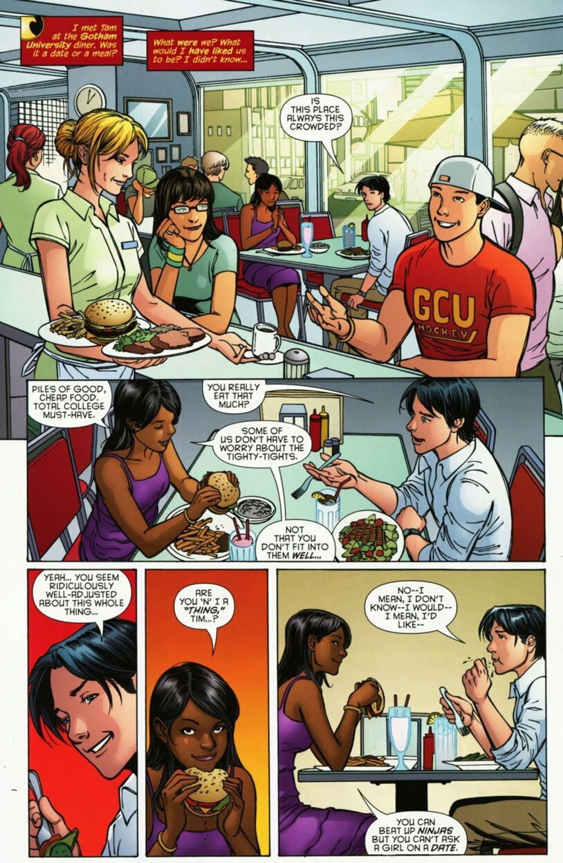 DC Comics Imagines - Tim Drake x Reader - Wattpad