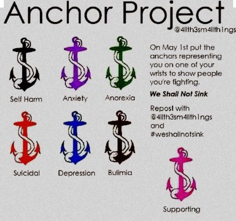 Self Harm Projects Anchor Project May 1 Wattpad