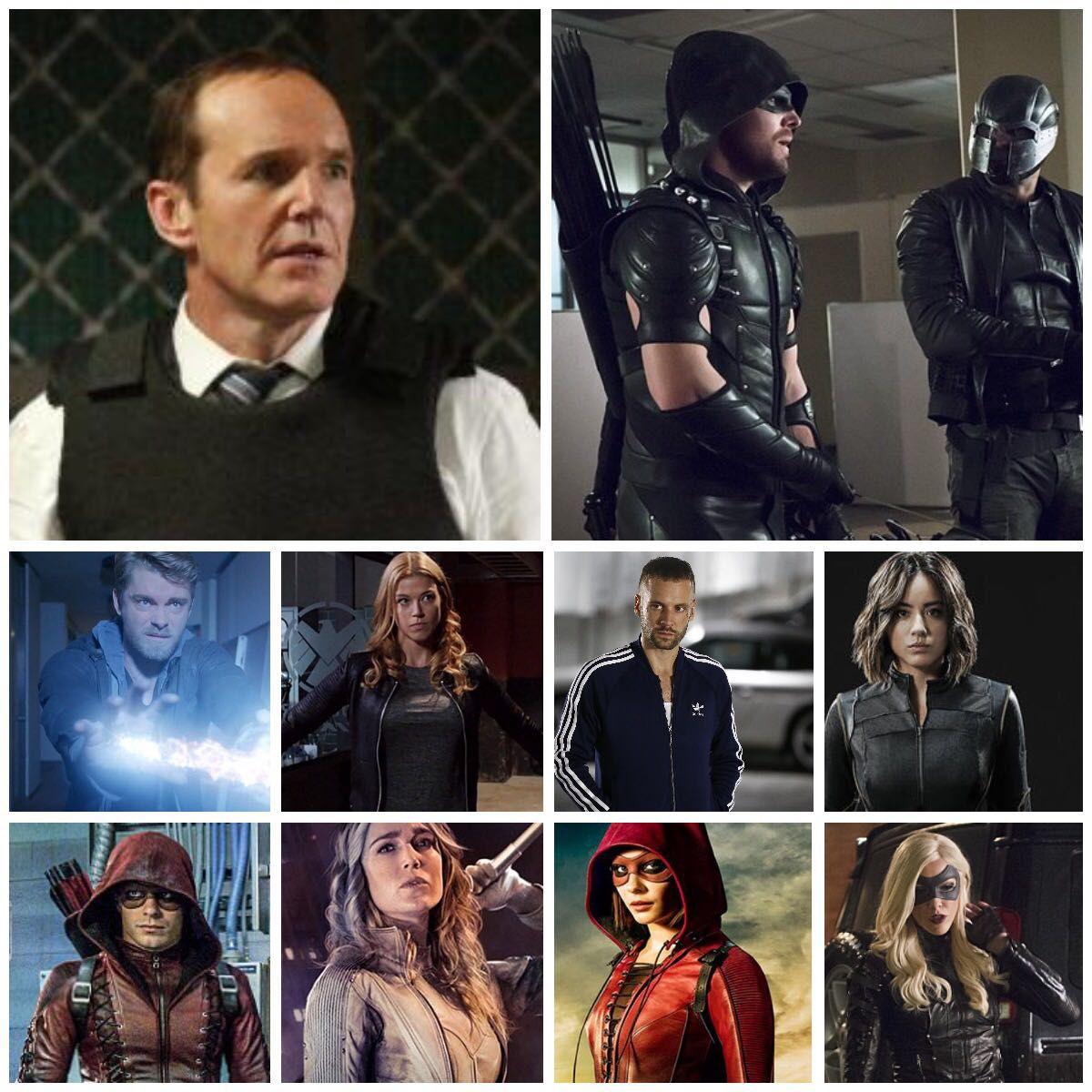 Agent Felicity Smoak - Chapter 7 : The Agents vs The Vigilantes