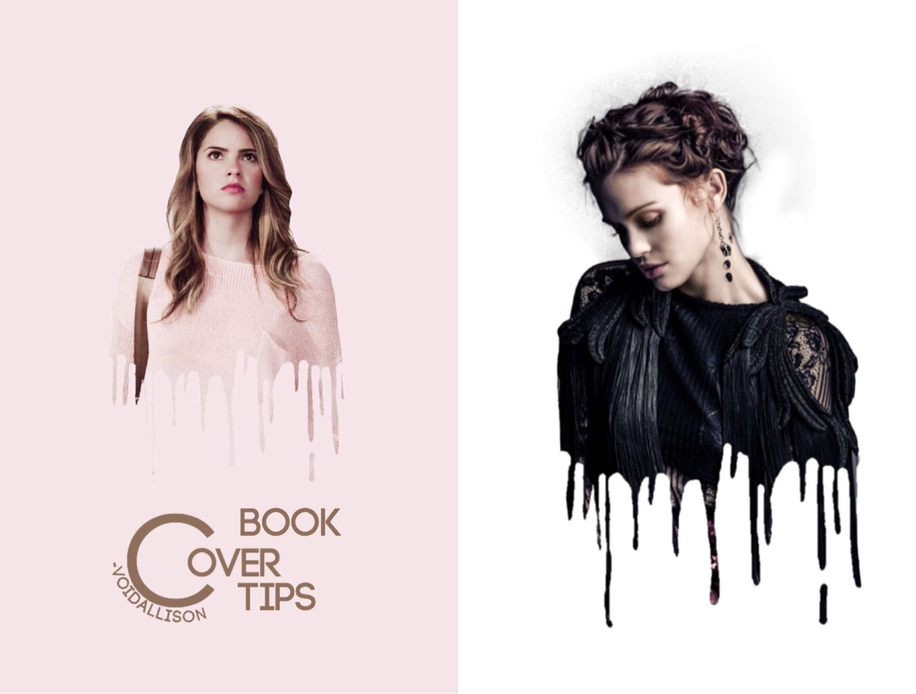 Book Cover Ideas Tumblr : Book cover tips dripping effect wattpad