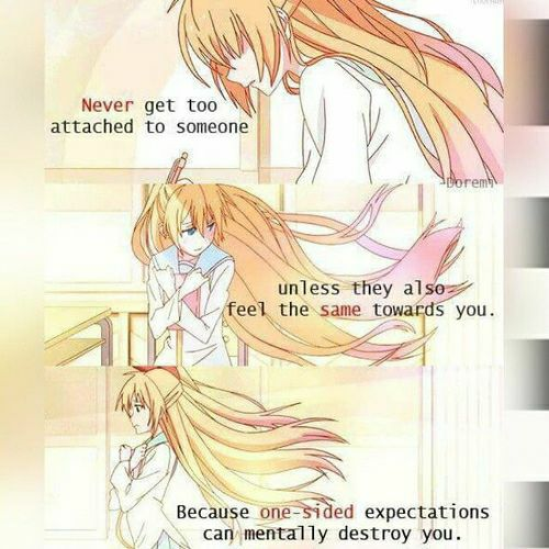 Anime Love Quotes Simple Anime Love Quotes Only