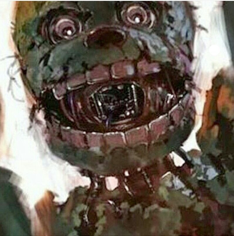 Five Nights At Freddys Show Teoria Di Fnaf Con Springtrap Wattpad