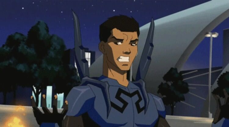Young Justice One Shots - Blue Beetle x Reader|| Part 1 ...