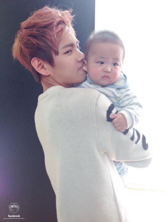 Mini Tae   Taehyung   BTS - Chasing Dreams and a baby
