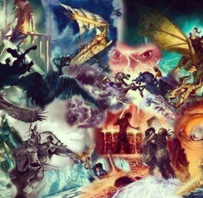 The Past Gods Read The Percy Jackson Series Book 1 Prolouge
