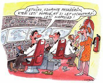 Výsledek obrázku pro vtipy o letadlech