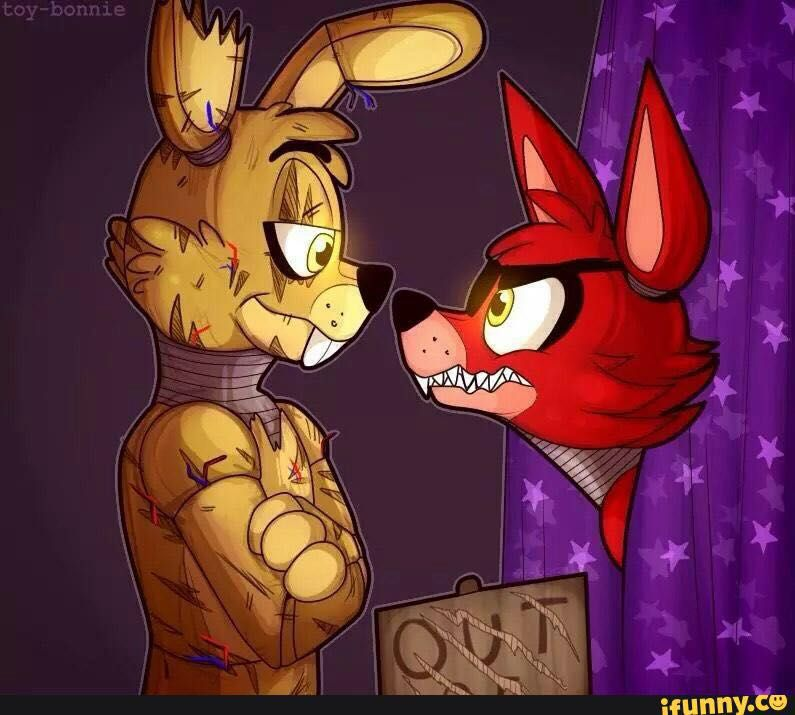 Mangle x foxy highschool love springtrap wattpad