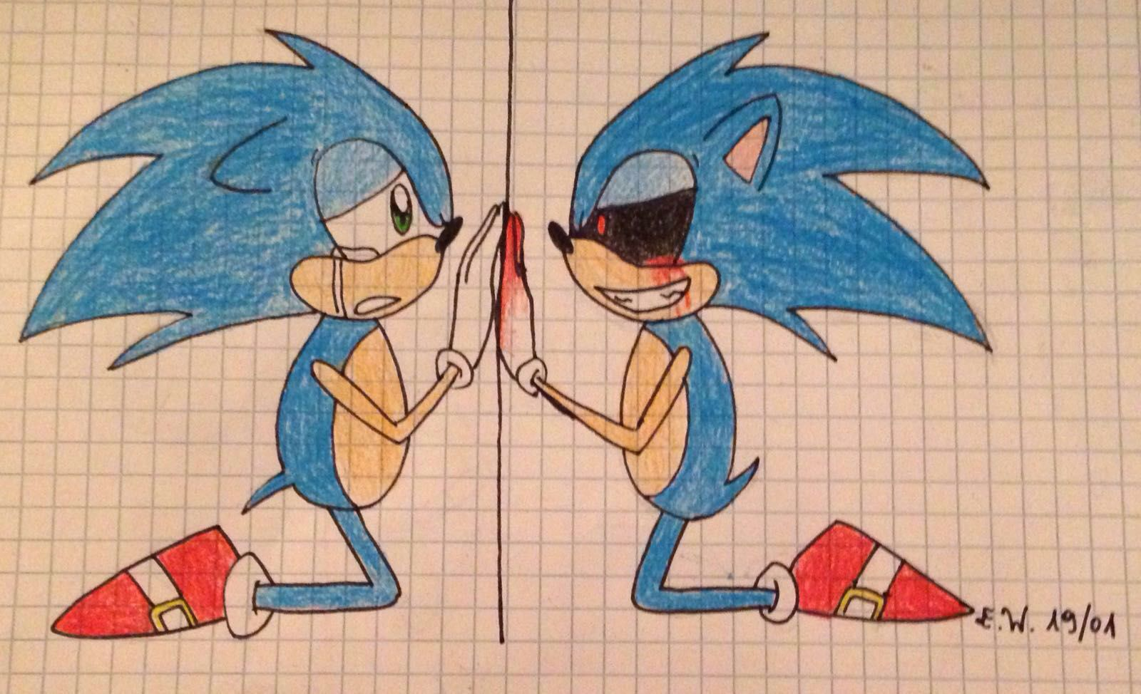 Disegni Disegnosi D Sonic E Sonicexe Wattpad