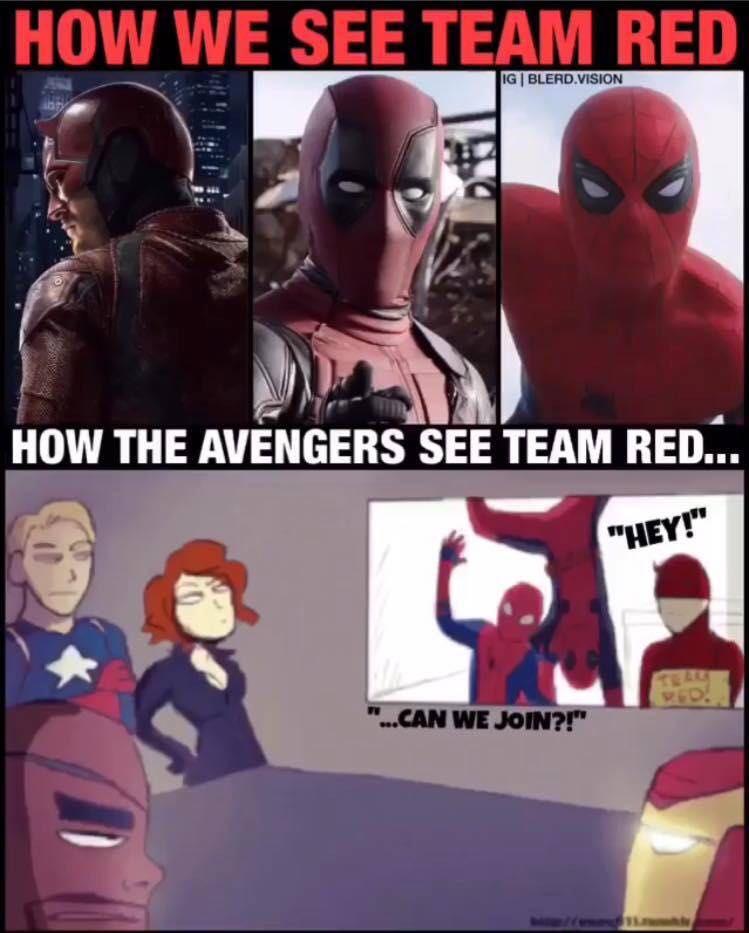 14402b497e4a9be0 marvel meme 4 red team 3 wattpad