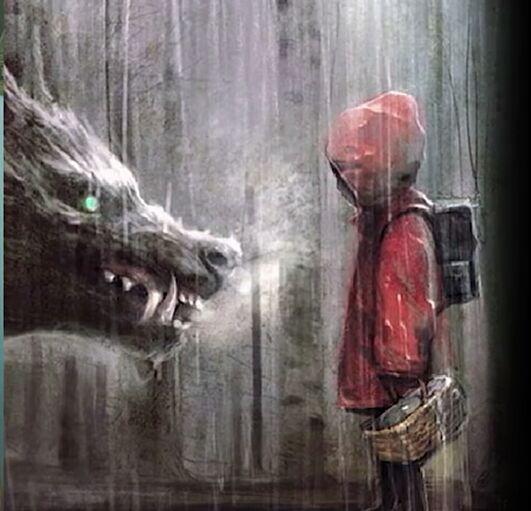 Assez Frasi e Curiosità sul lupo - L'origine macabra di cappuccetto  KR16