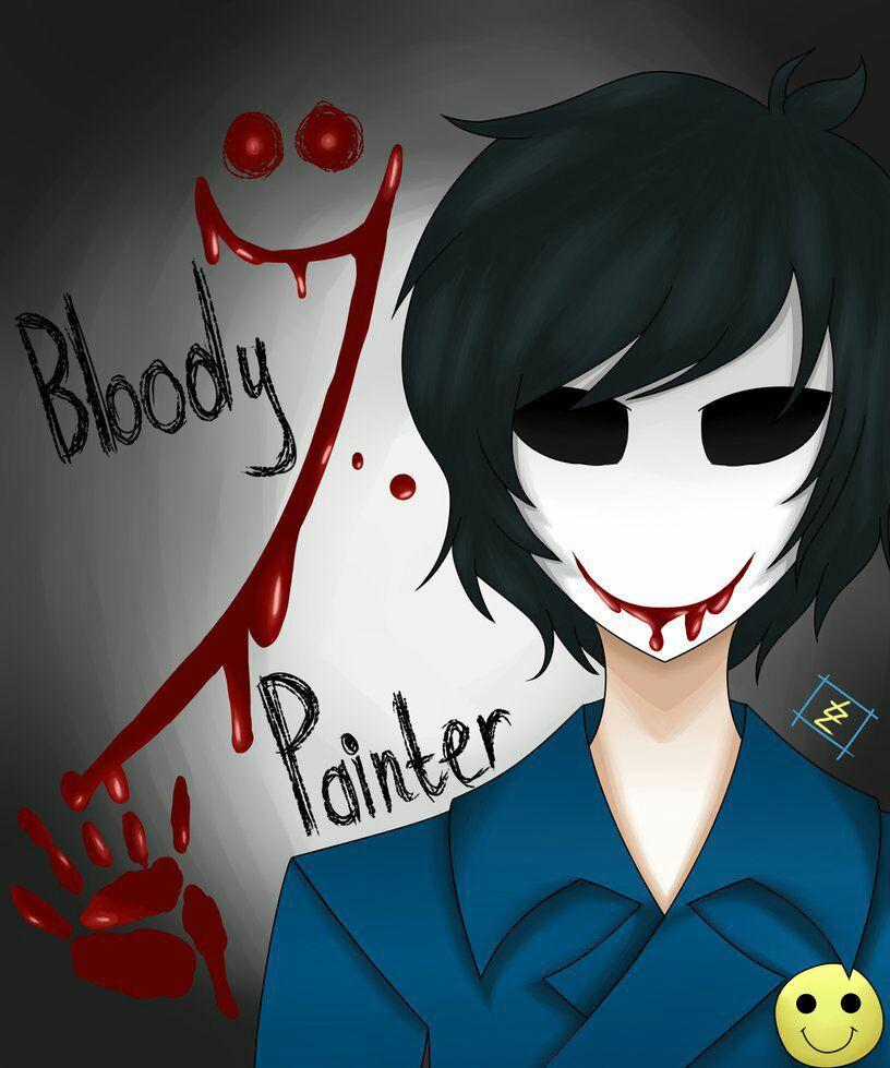 Yandere! Creepypasta x Reader ONE-SHOTS - Yandere! Bloody Painter x